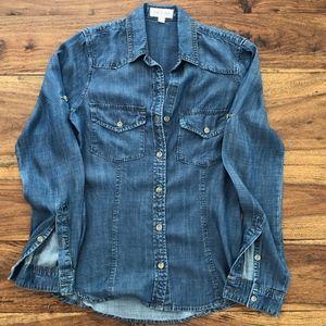Cloth & Stone Denim Shirt